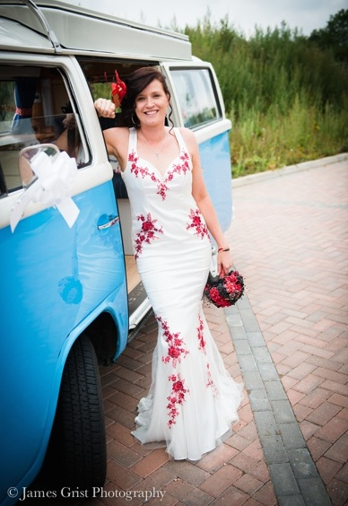 with_love_and_lace_bespoke_couture_bridalwear_jo_withey_dress_wedding_bride_unique_custom_embroidery_dartford_kent_becca_2014_camper_van