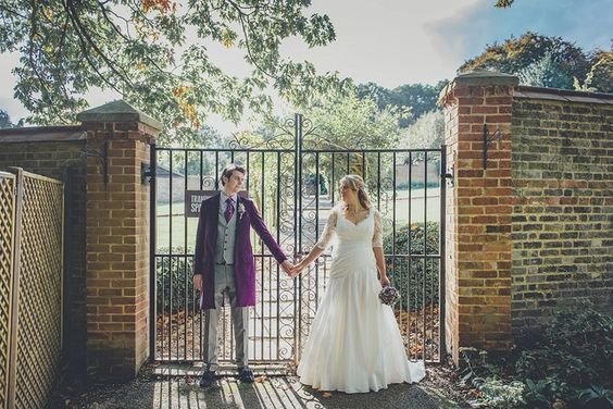 with_love_and_lace_bridal_tailoring_bespoke_menswear_jo_withey_dartford_kent_made_to_measure_rowhill_grange_wedding_2015_bride_and_groom