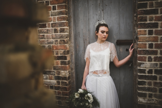 Photography : Matthew Doyle Photography Hair and Make Up :Catherine Strong Flowers :Flowers by Donna Model :KHL Modelling